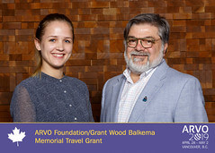 2019 Grant Wood Balkema Memorial Travel Grant Recipient