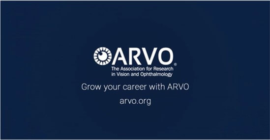 Grow your career with ARVO intro slide