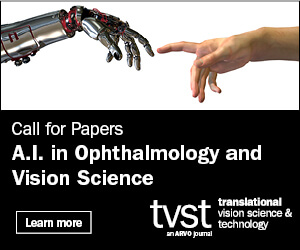 The Association for Research in Vision and Ophthalmology-